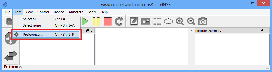 How To Add Routers IOS in GNS3 -www ncpnetwork com