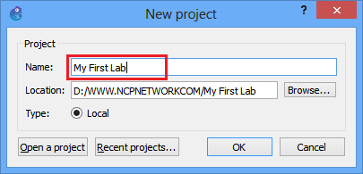 How to Use GNS3 - www ncpnetwork com